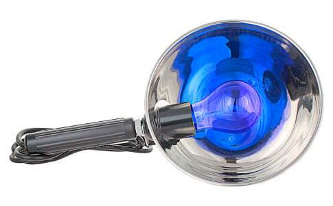 Синяя лампа от насморка