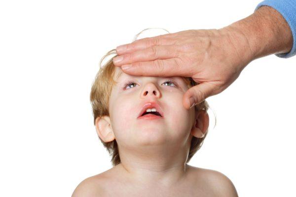 Массаж точек детям при простуде