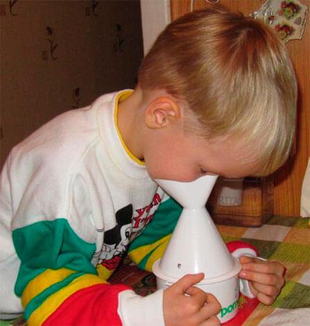 Обычный ингалятор для детей